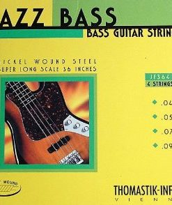 Thomastik JF364 Flatwound Long Scale 4-String Jazz Bass Strings